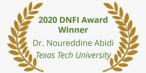 Noureddine Abidi Win 2020 DNFI Award