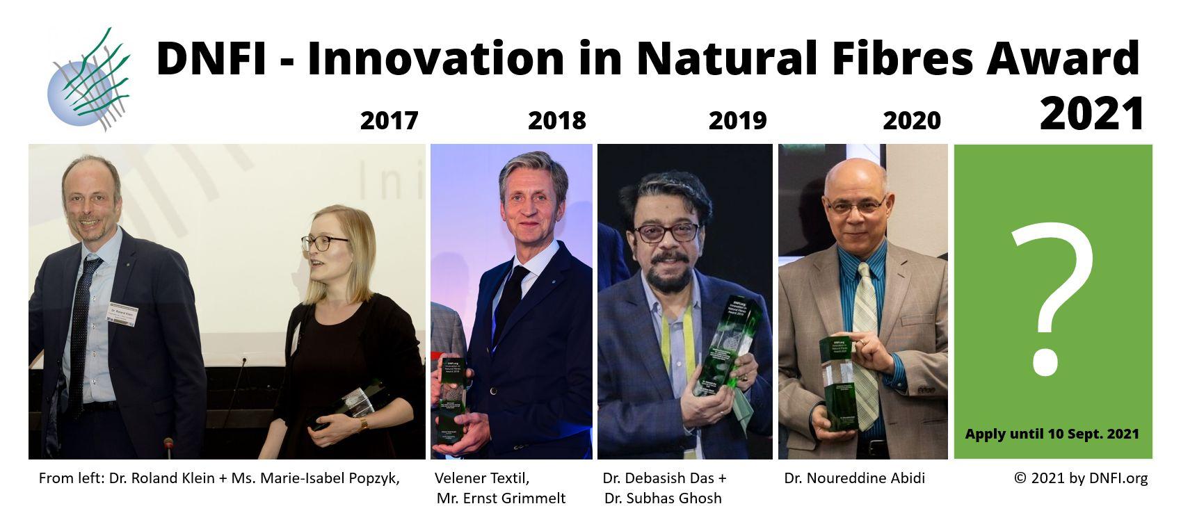 Previous Winners - DNFI Award 20revious W17 - 2020