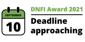 DNFI Award 2021 - Deadline September 10