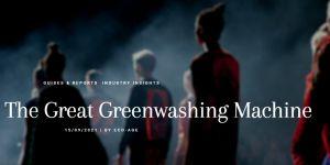 The Great Green Washing Machine Part 1